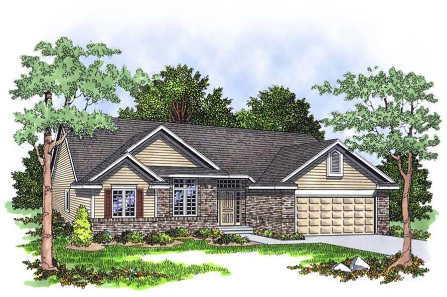 Main image for house plan # 13312