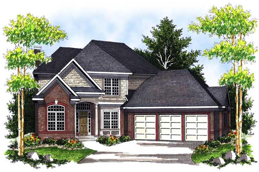 Main image for house plan # 13958