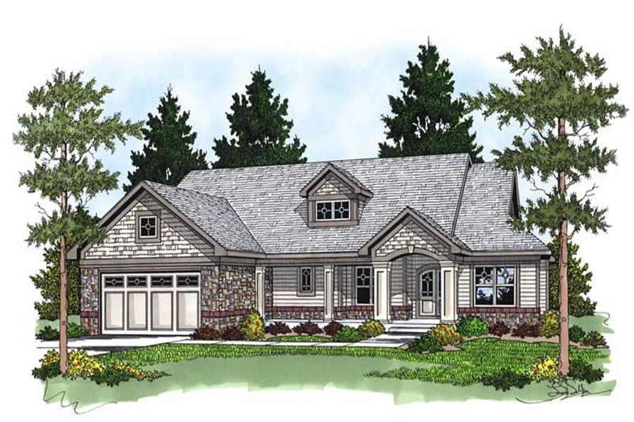Main image for house plan # 13759