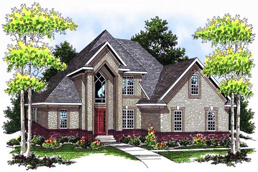 Main image for house plan # 13741
