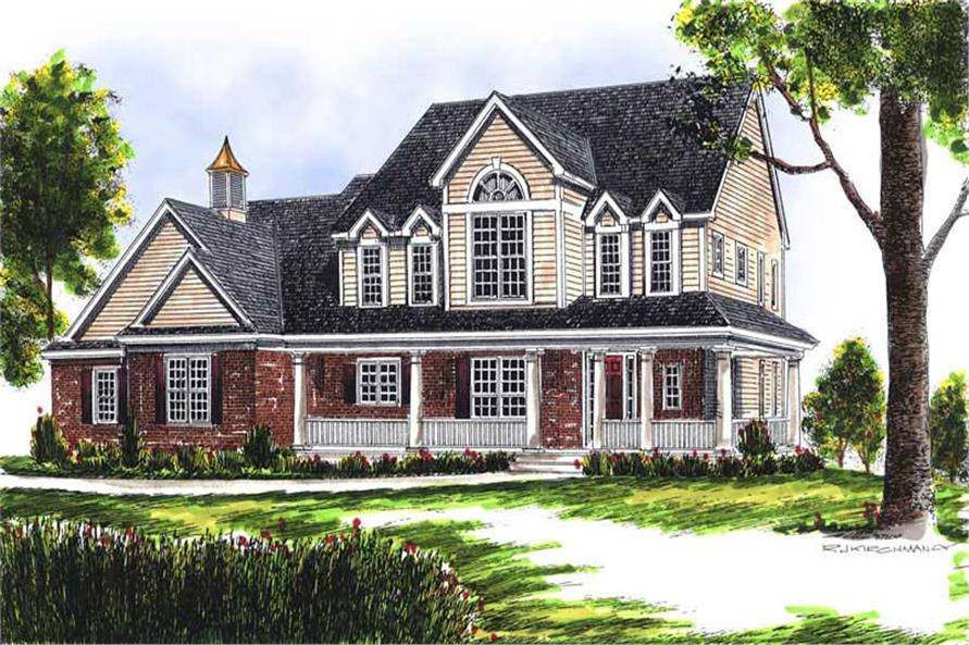 Main image for house plan # 13659