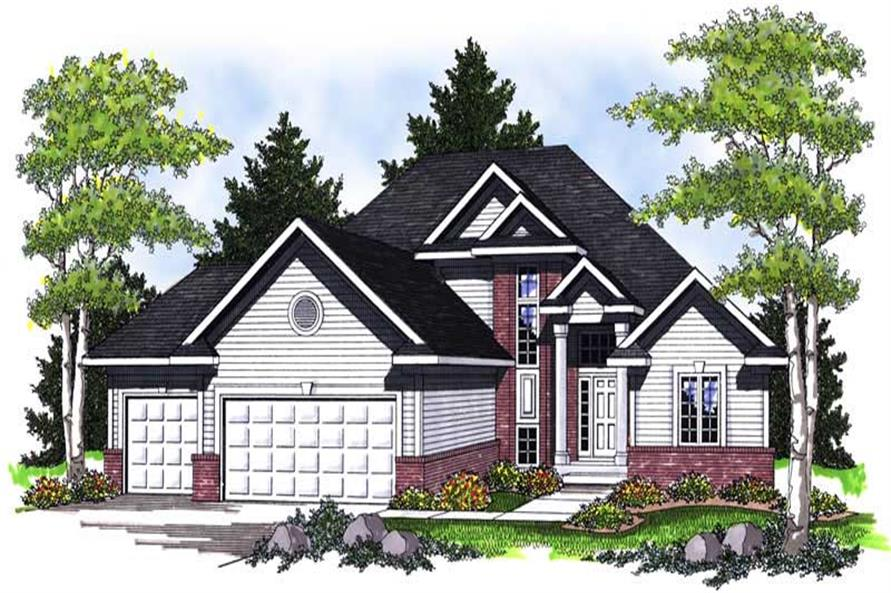 Main image for house plan # 14041