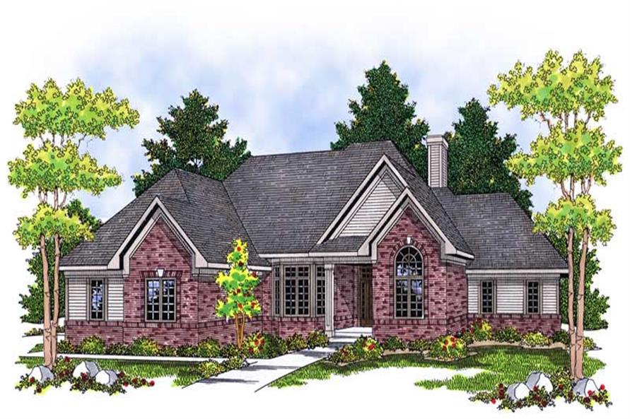 Main image for house plan # 13791