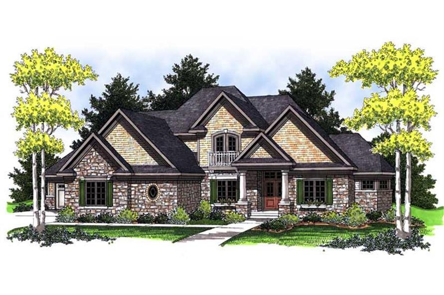 101-1224: Home Plan Rendering