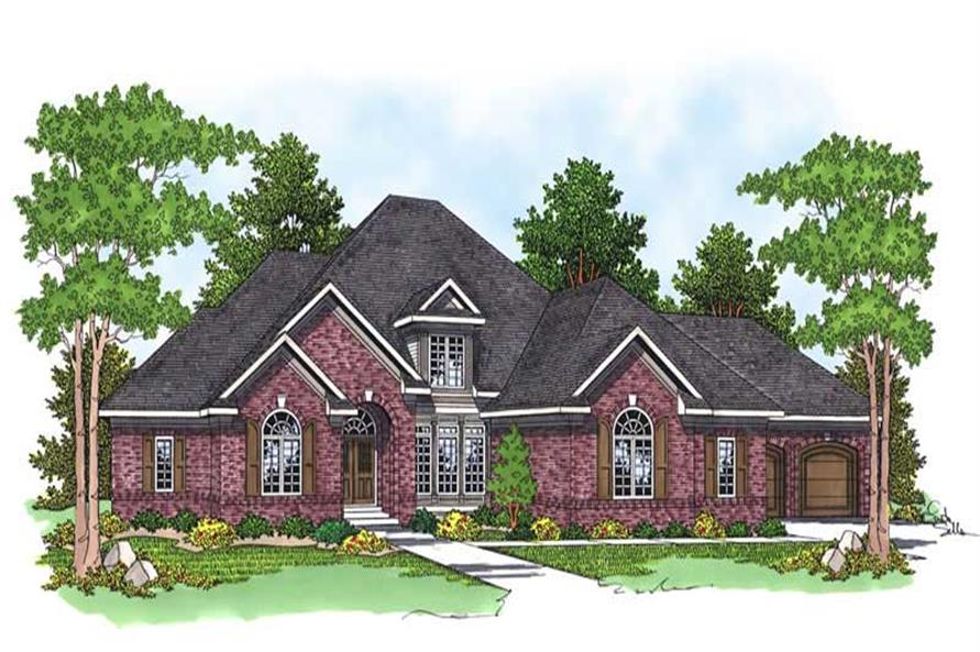 Main image for house plan # 13761