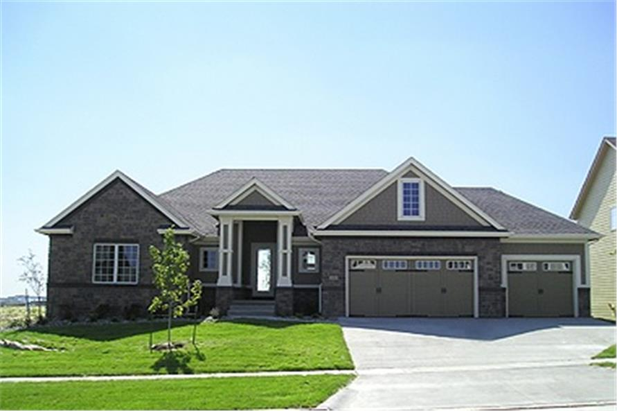 Main image for house plan # 13800