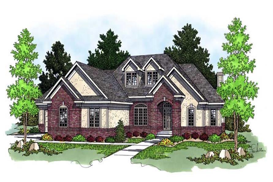Main image for house plan # 13769
