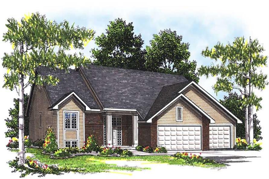 Main image for house plan # 13505