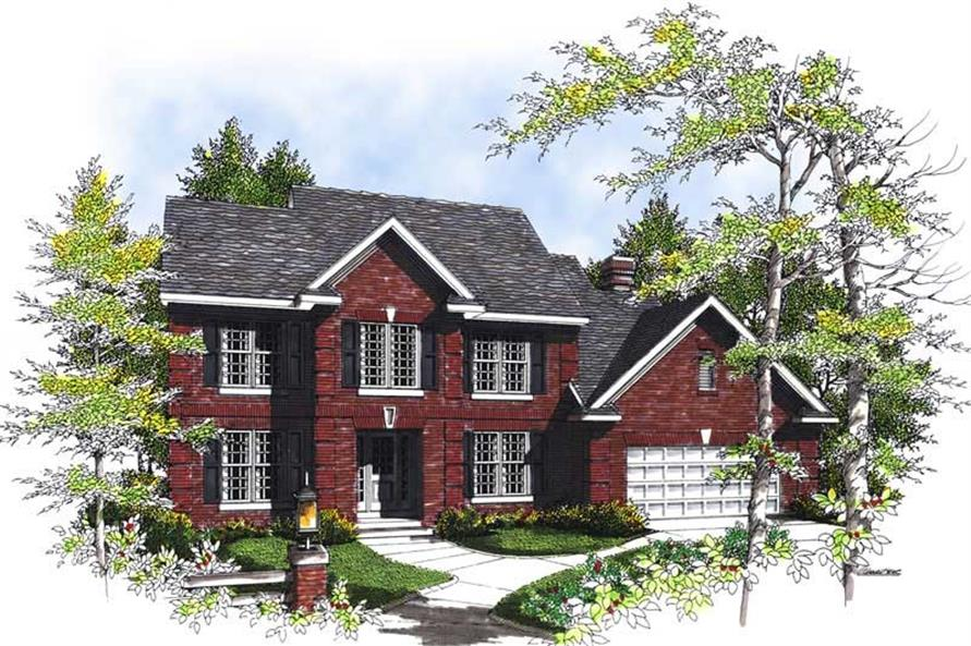 Main image for house plan # 13500