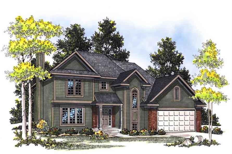 Main image for house plan # 13543
