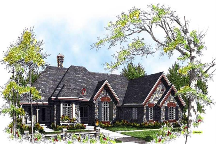 Main image for house plan # 13494