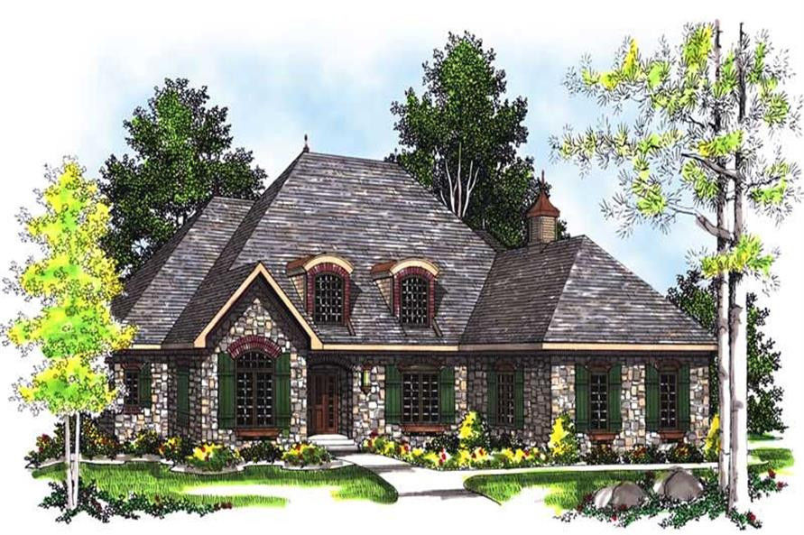 Main image for house plan # 13513