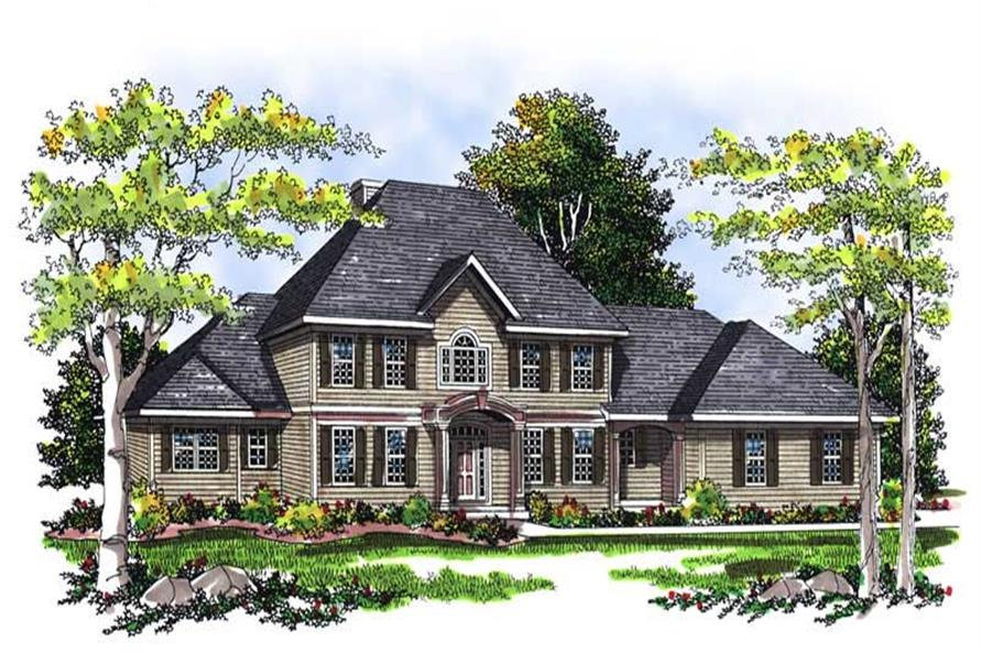 Main image for house plan # 13450