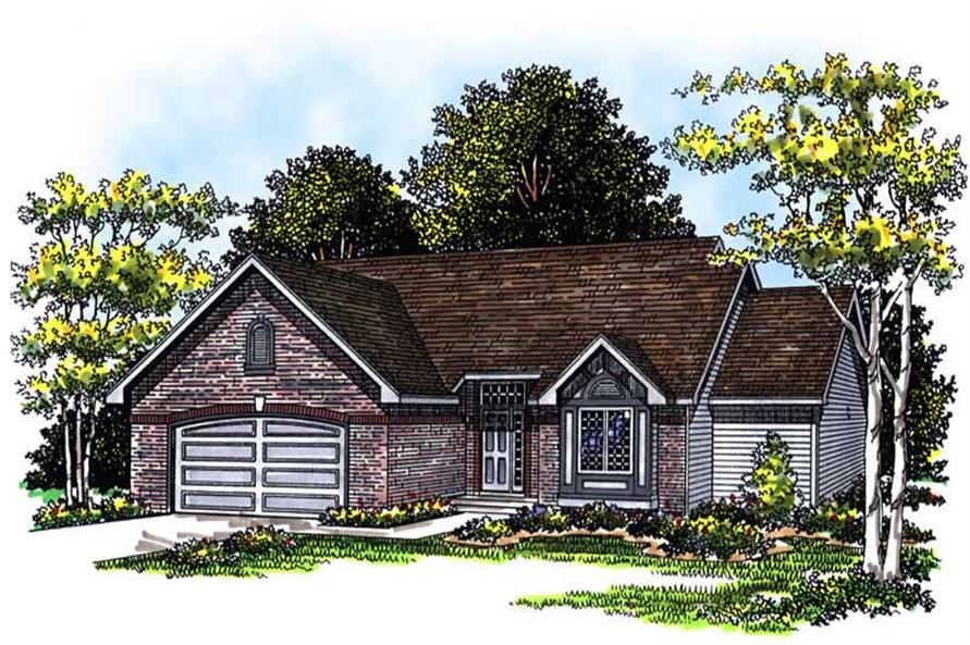 Main image for house plan # 13438
