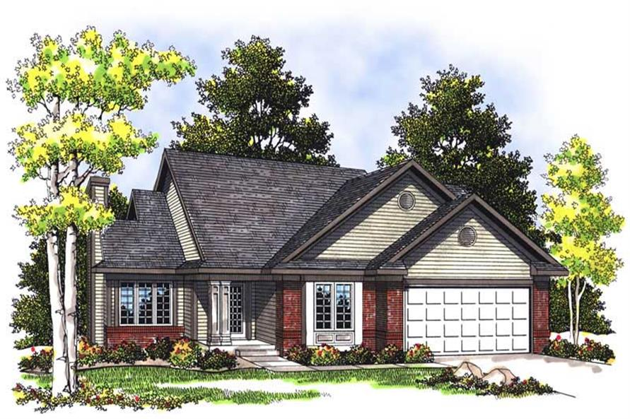 Main image for house plan # 13538