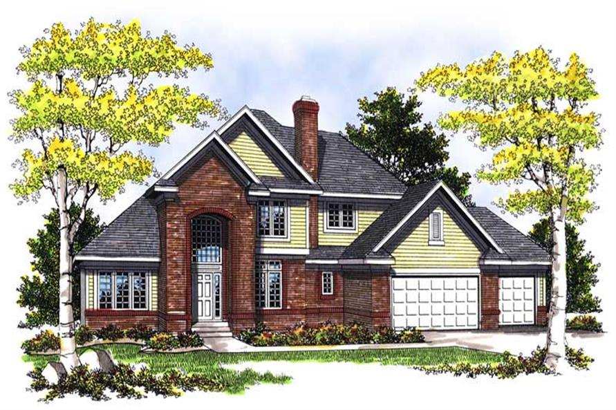 Main image for house plan # 13537