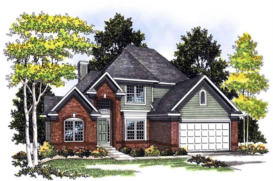 Main image for house plan # 13534