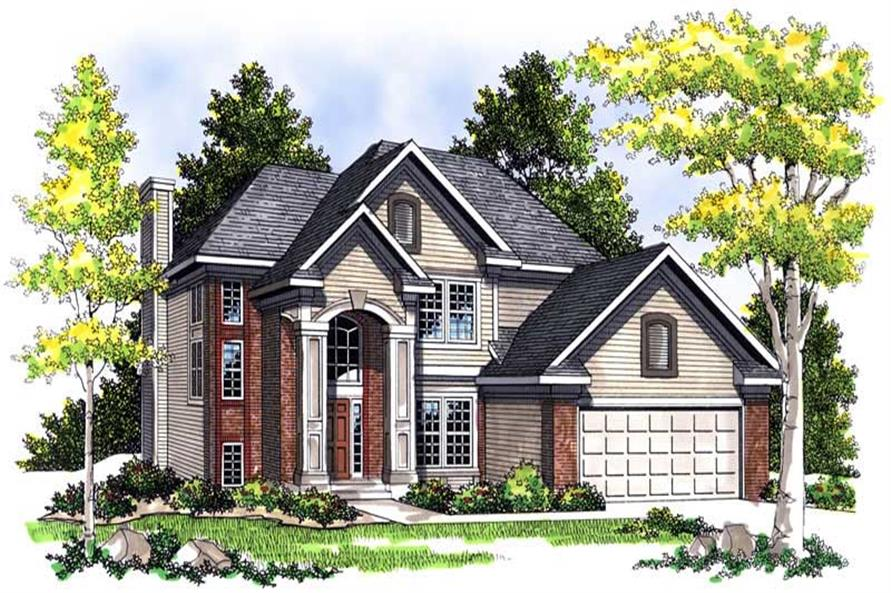 Main image for house plan # 13532