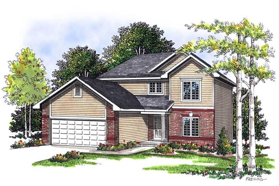 Main image for house plan # 13522