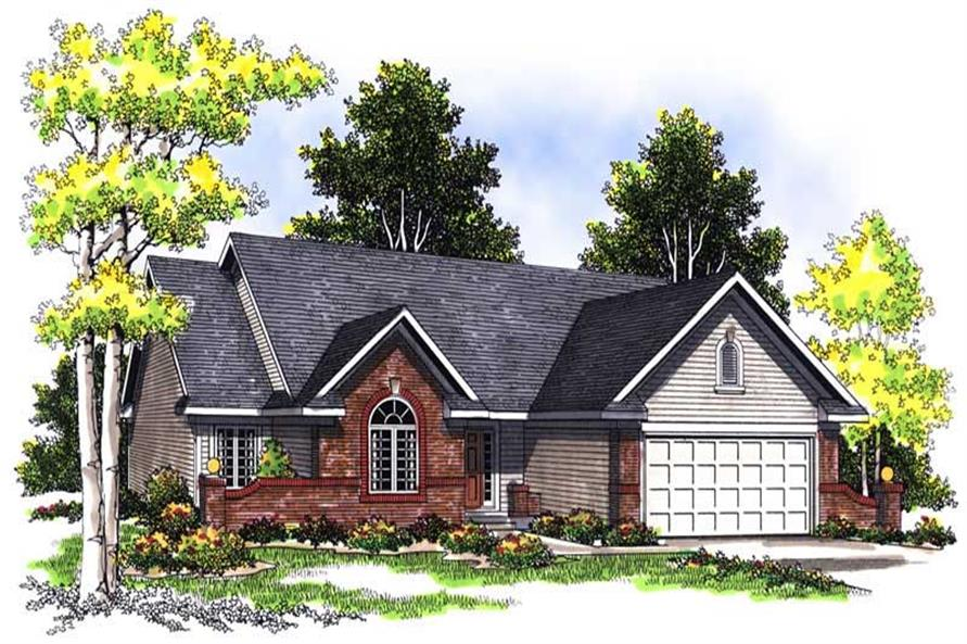Main image for house plan # 13516
