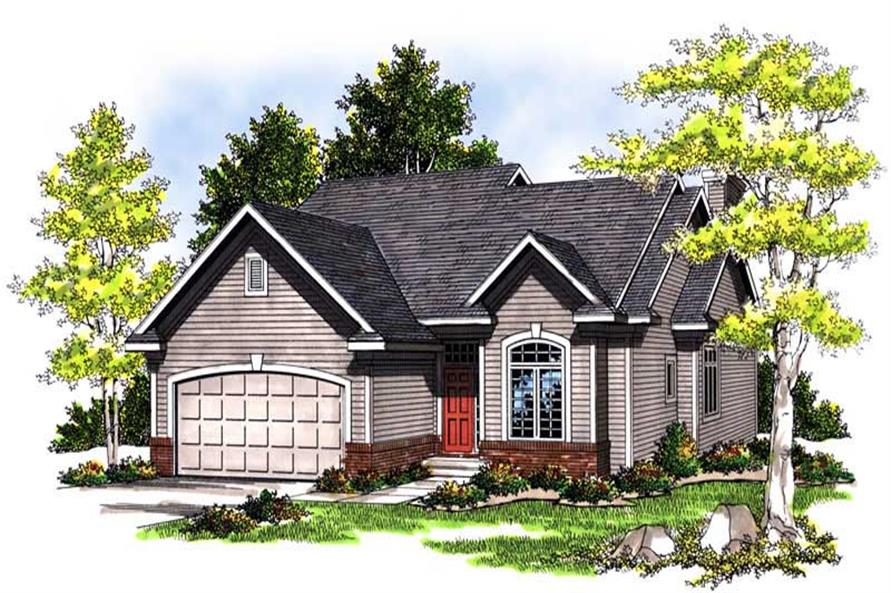 Main image for house plan # 13514