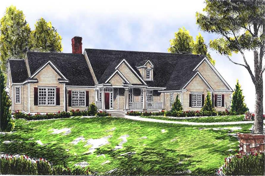 Main image for house plan # 13622
