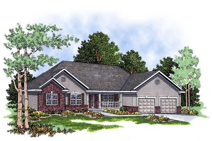 Main image for house plan # 13428