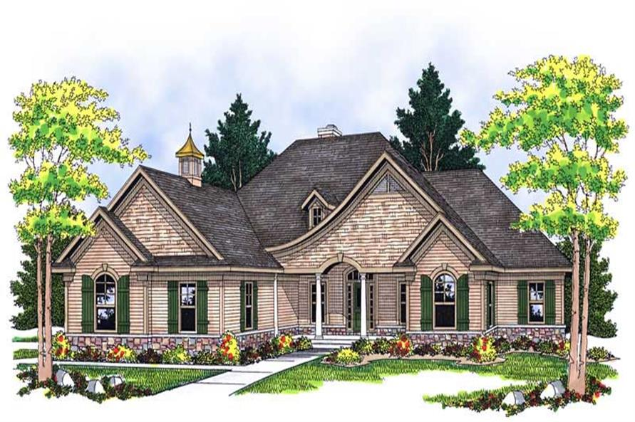 Main image for house plan # 13794