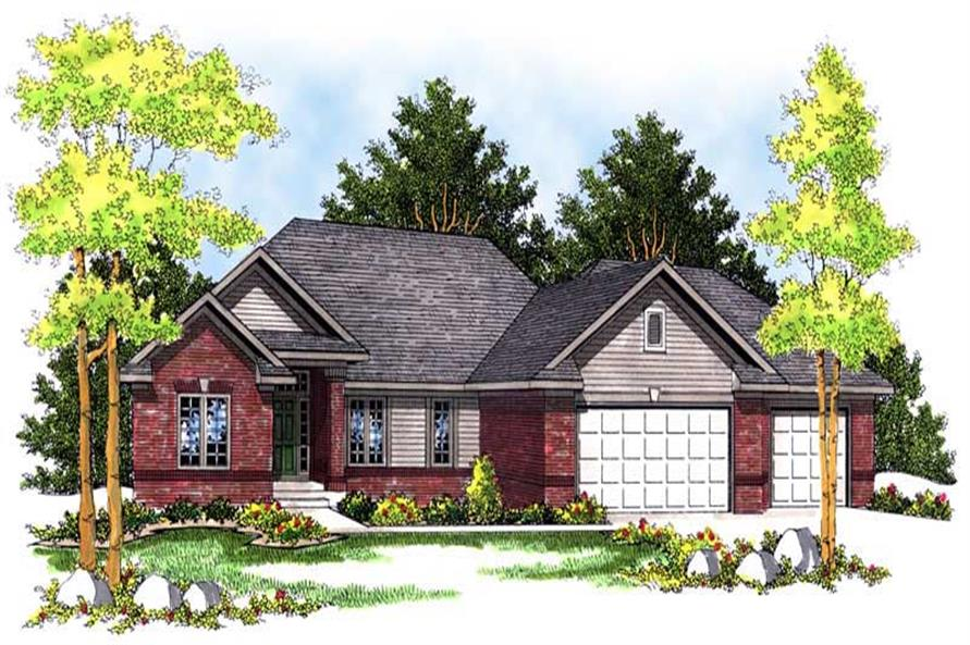 Main image for house plan # 13631