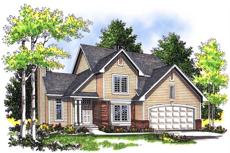 Main image for house plan # 13463