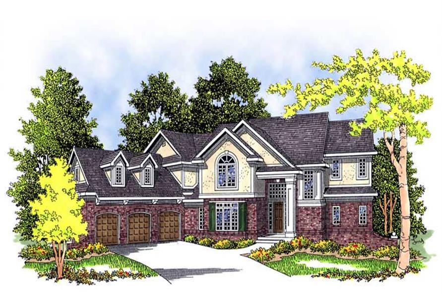 Main image for house plan # 13452