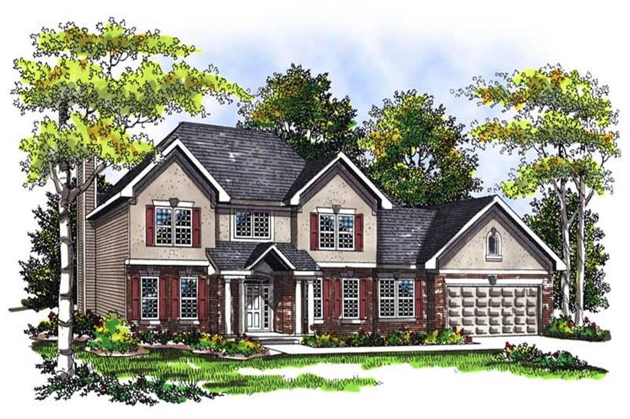 Main image for house plan # 13451