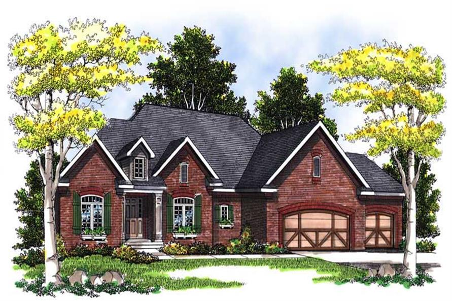 Main image for house plan # 13545