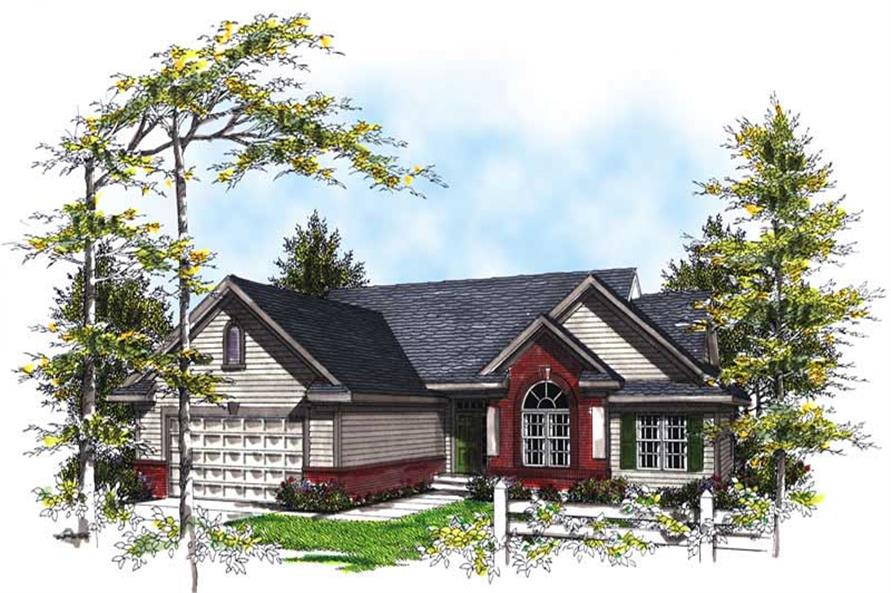 Main image for house plan # 13398