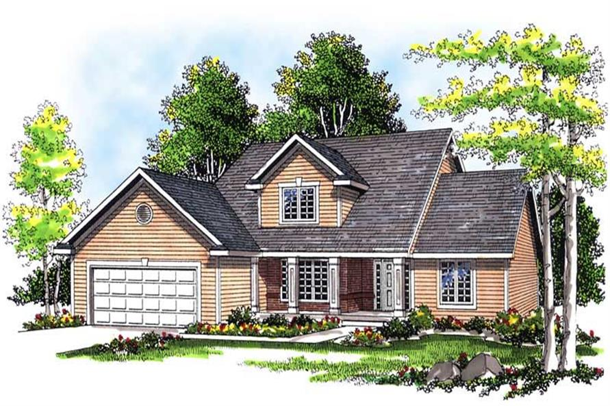 Main image for house plan # 13484