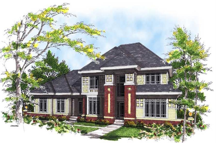 Main image for house plan # 13474