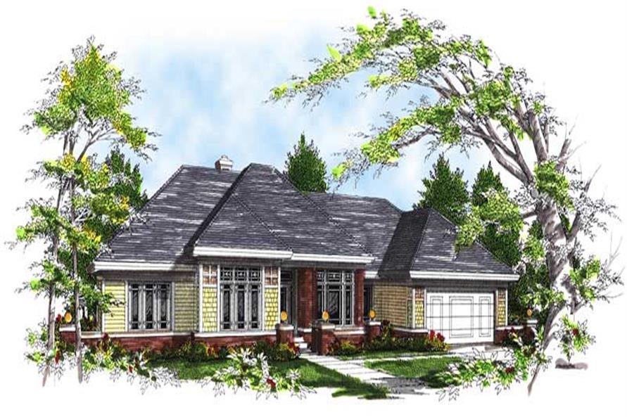 Main image for house plan # 13473