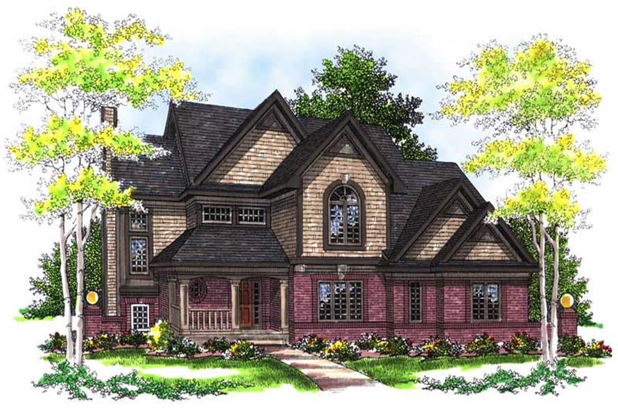 Main image for house plan # 13470