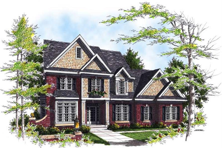 Main image for house plan # 13469