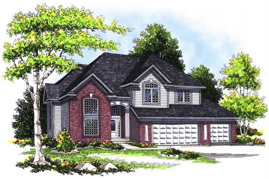 Main image for house plan # 13467