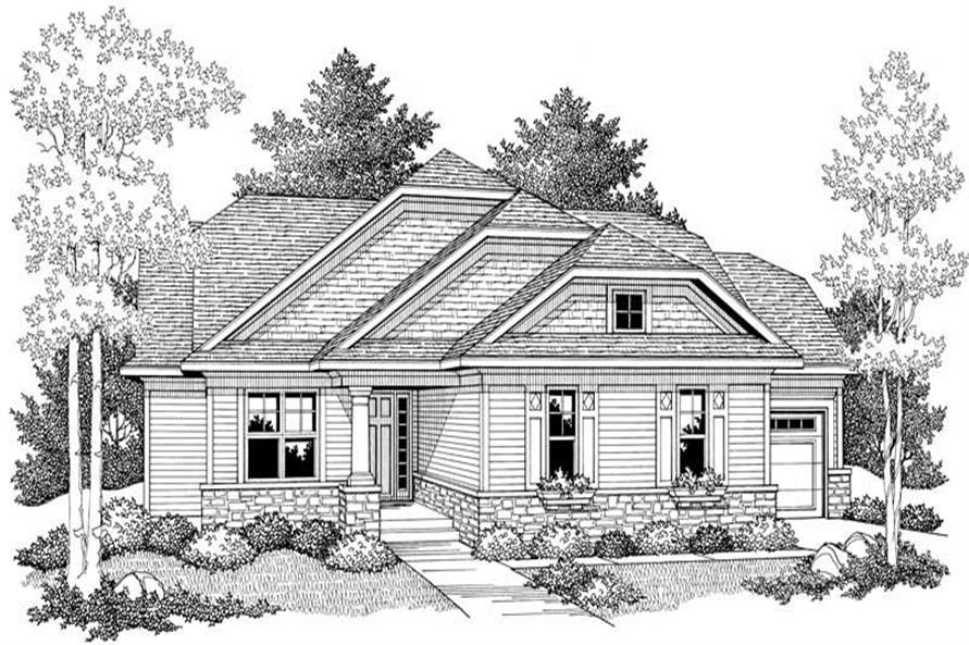 House Plan #101-1317
