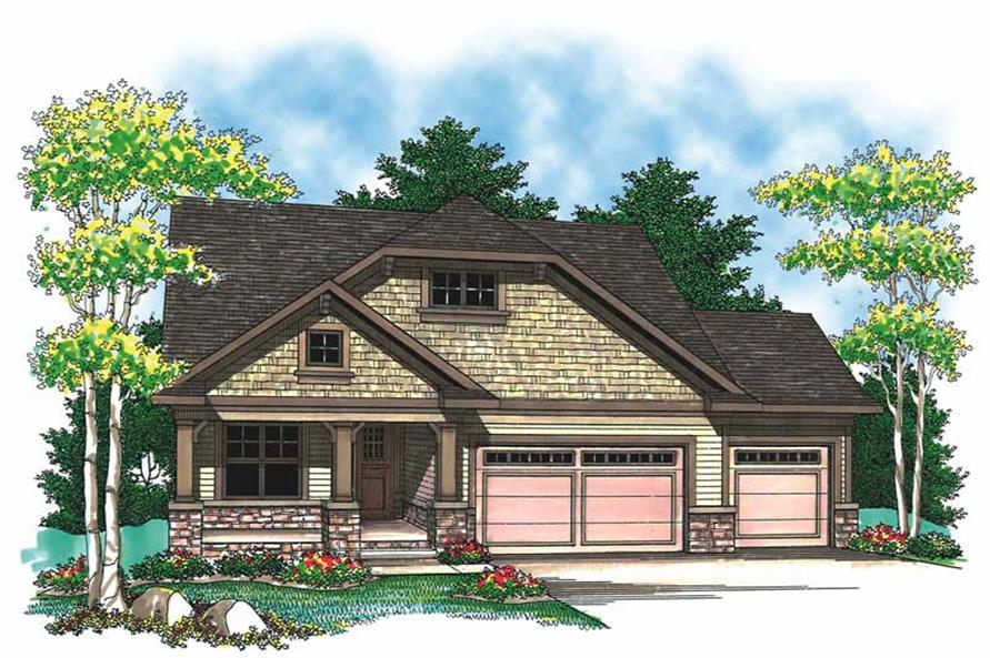 Main image for house plan # 19532