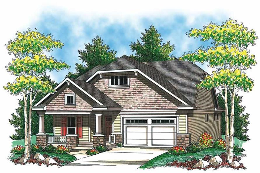 Main image for house plan # 19530