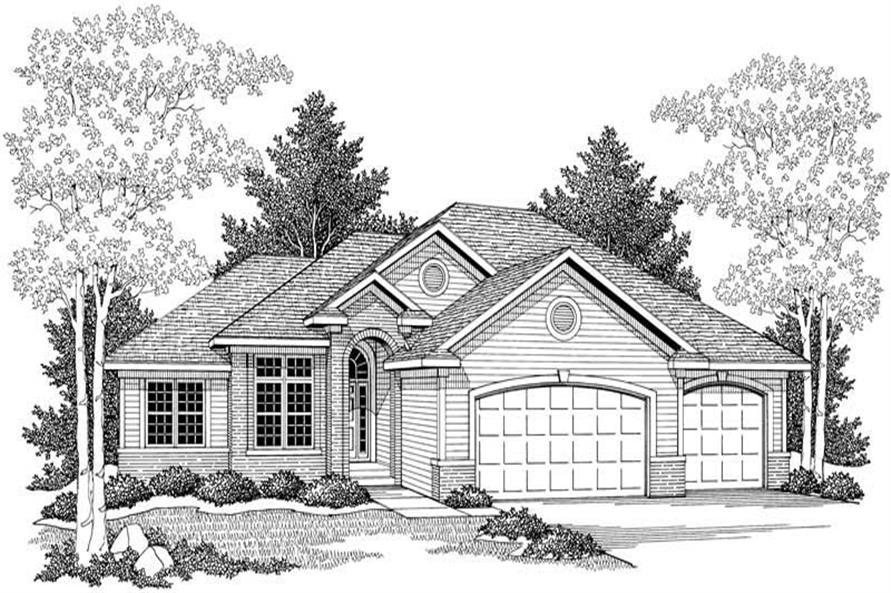 House Plan #101-1332