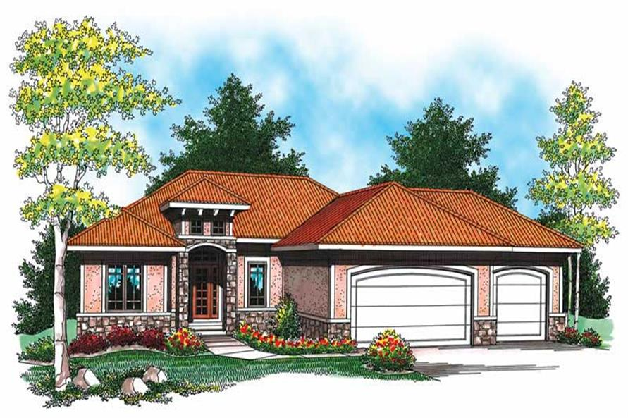 Main image for house plan # 19498