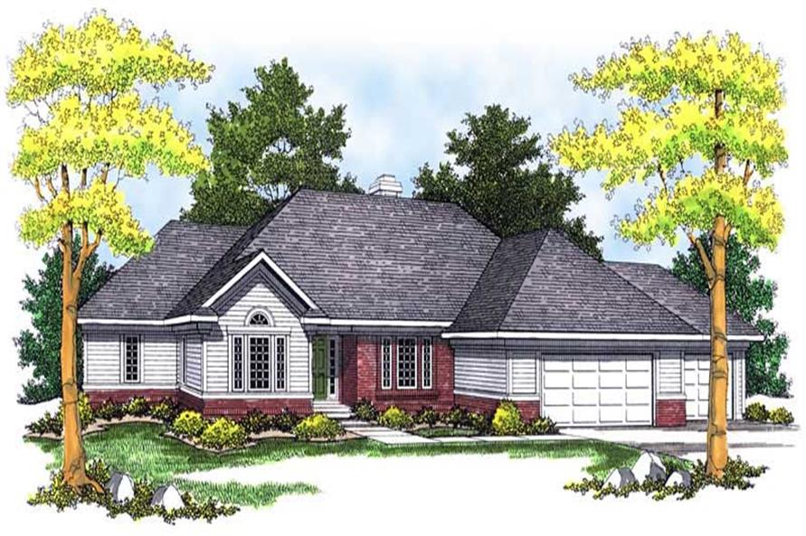 Main image for house plan # 13646