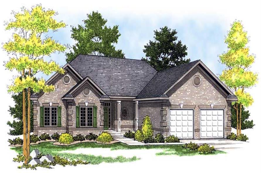 Main image for house plan # 13638