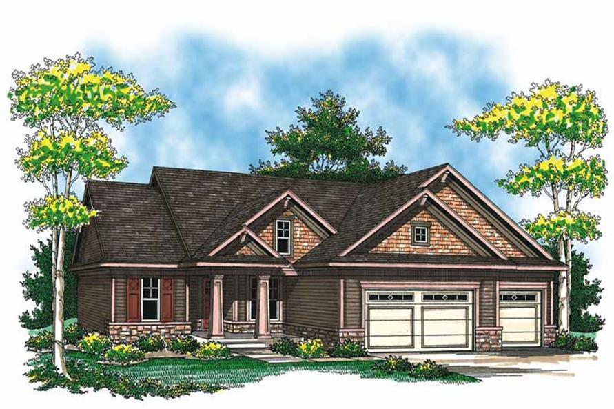 Main image for house plan # 19537
