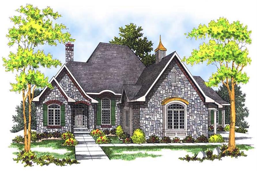 Main image for house plan # 13629