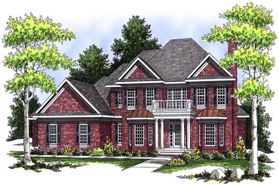 Main image for house plan # 13618
